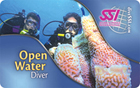 SSI Open Waten Diver